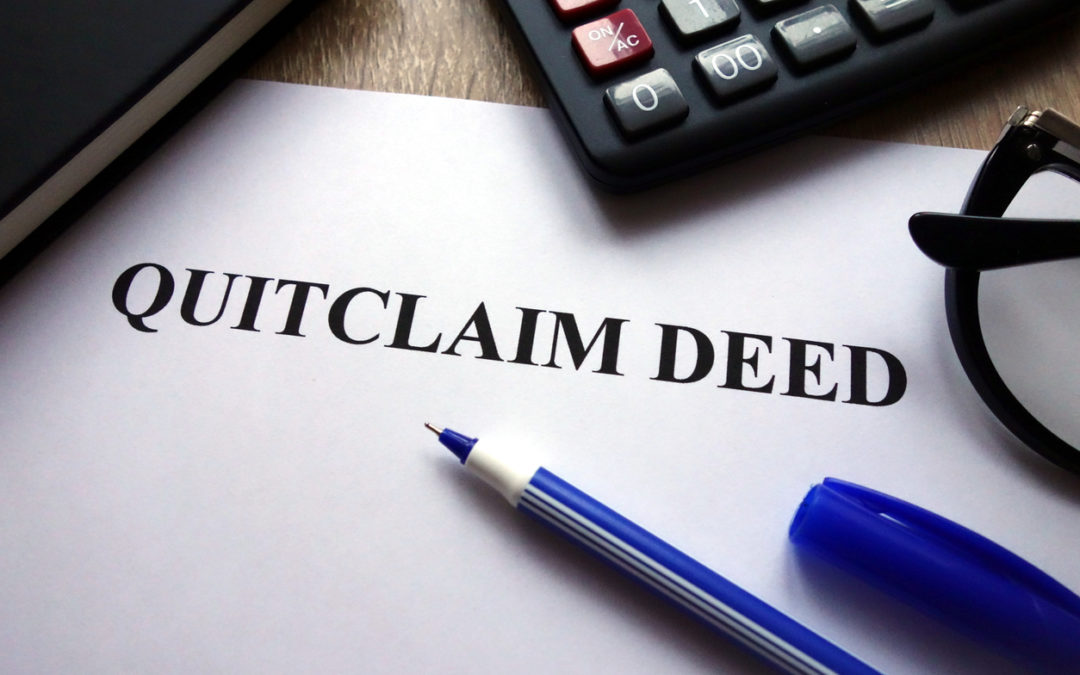 Foreclosure Auctions – Does a Quitclaim Deed Give Clear Title?