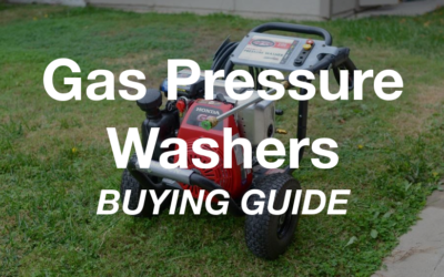 Best Gas Pressure Washers Buying Guide