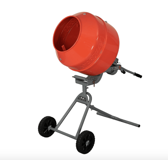 Yardmax YM0146 Electric Concrete Mixer