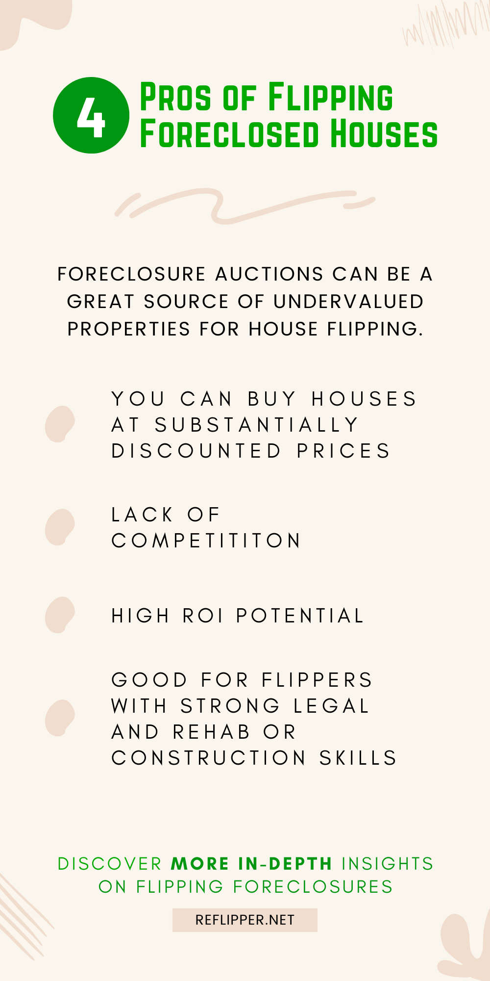 4 Pros of Flipping Foreclosed Houses - REFlipper