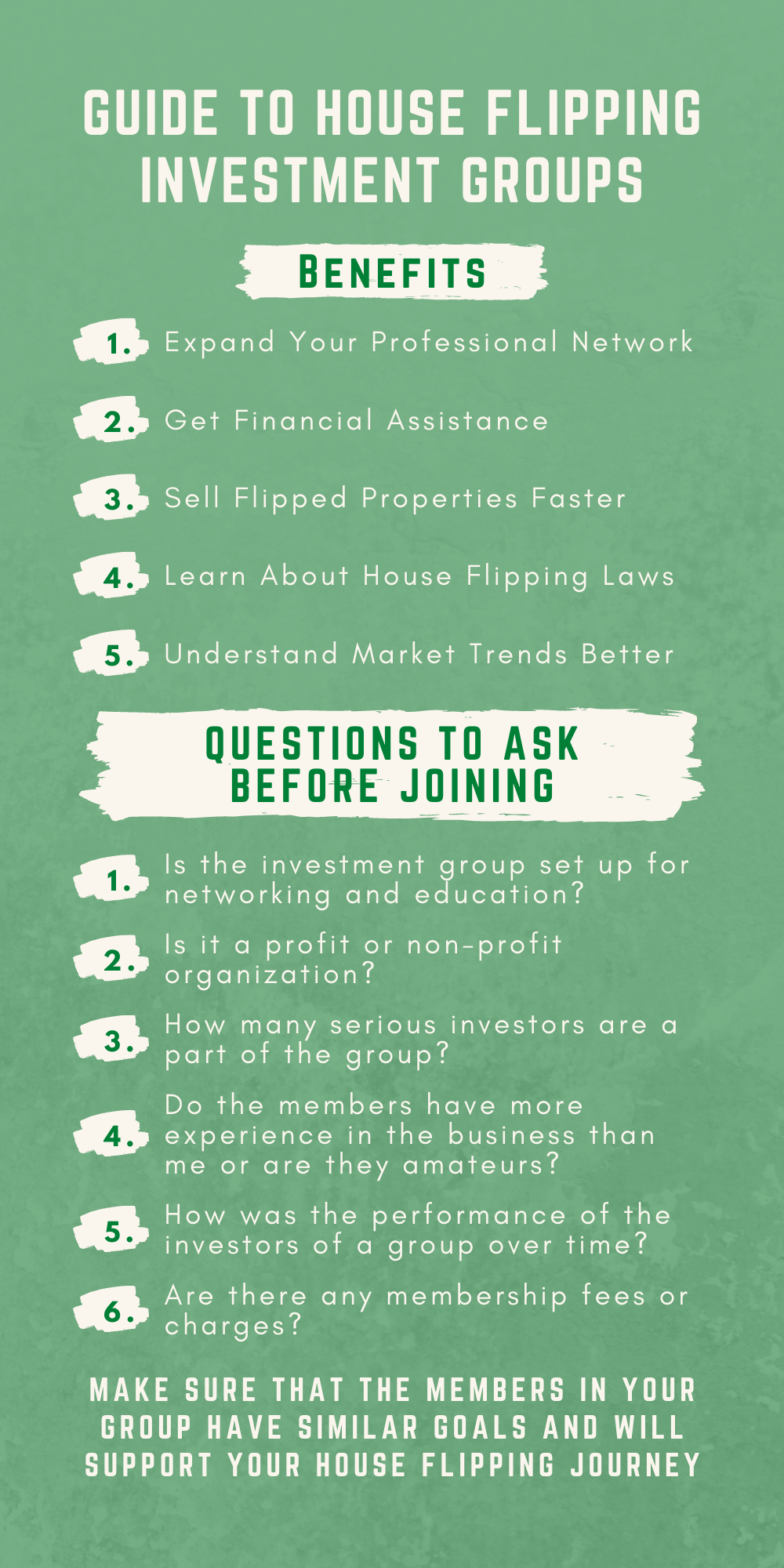 Guide to House Flipping Investment Groups